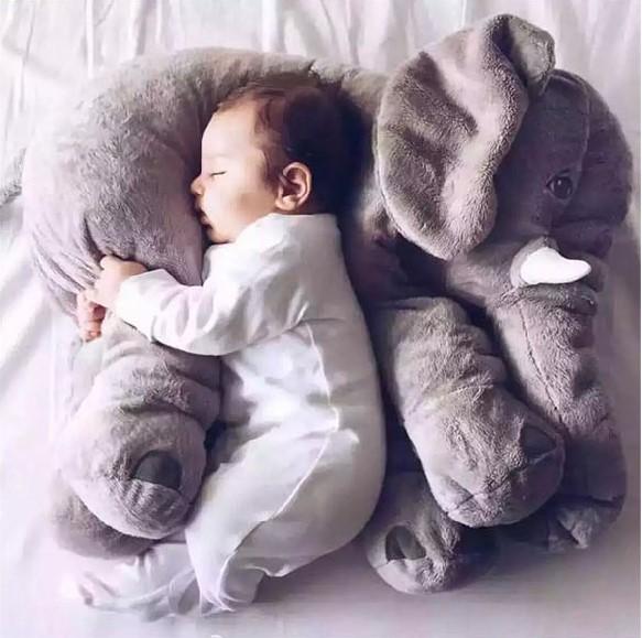 可愛大象抱枕 嬰兒枕頭 安撫療癒系 兒童抱枕 【AN SHOP】
