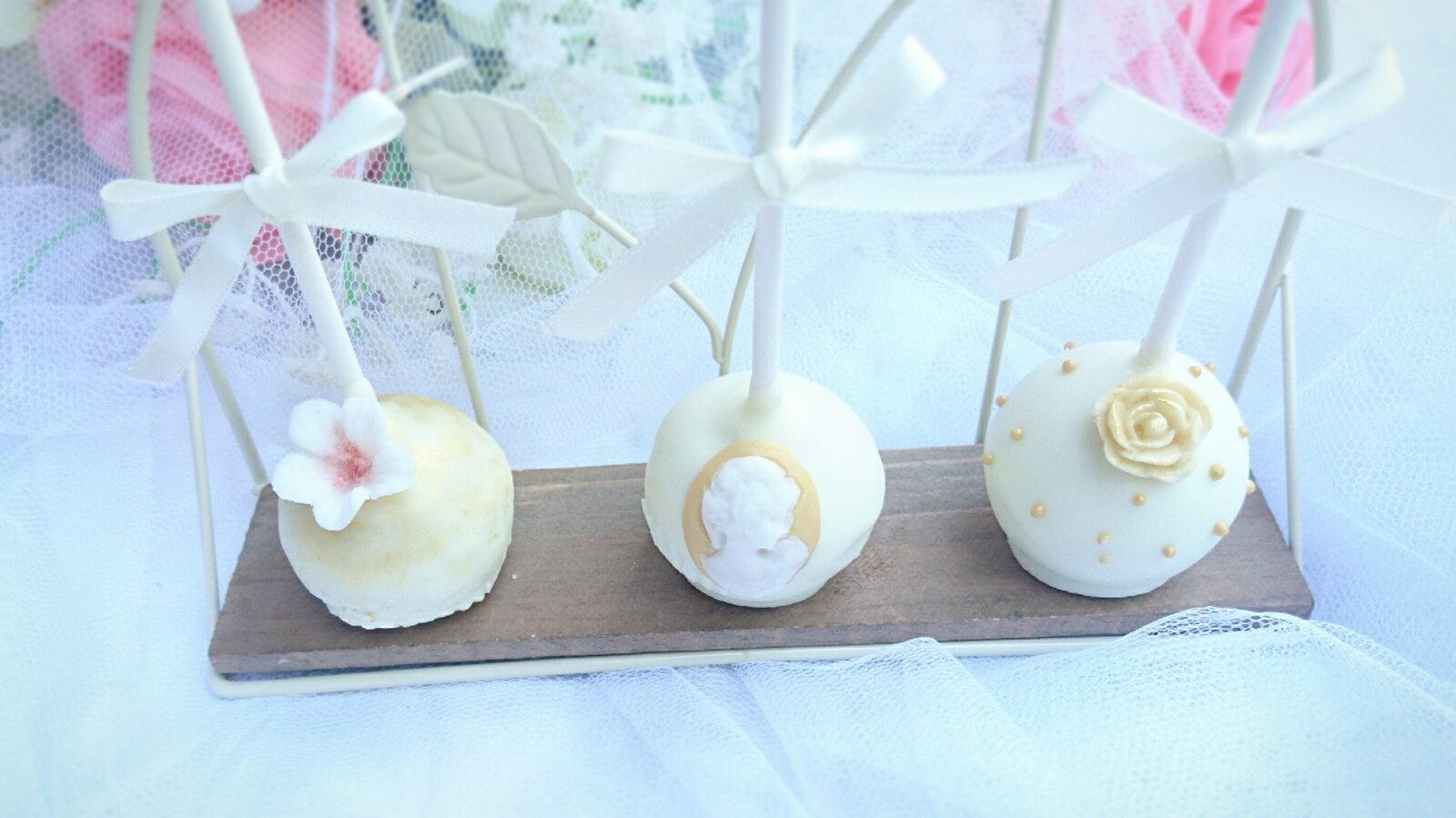 【Miss Cat】白金系列低調奢華布朗尼棒蛋糕、婚禮必備(10對20支) 0