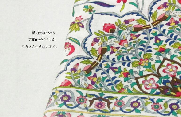 日本集采苑 - Kaen Series 華苑手帕/方巾/頭巾禮品袋《日本設計製造》《全館免運費》,職人的堅持,8種顏色/8回的手作染印