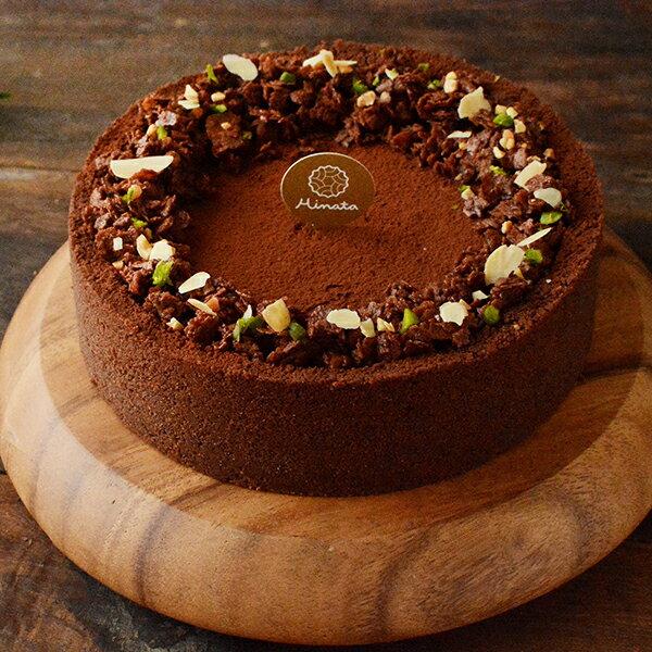 黑爵可可乳酪蛋糕 6吋 / 法國Callebaut 70%巧克力與北海道十勝乳酪交織而成的綿密口感!