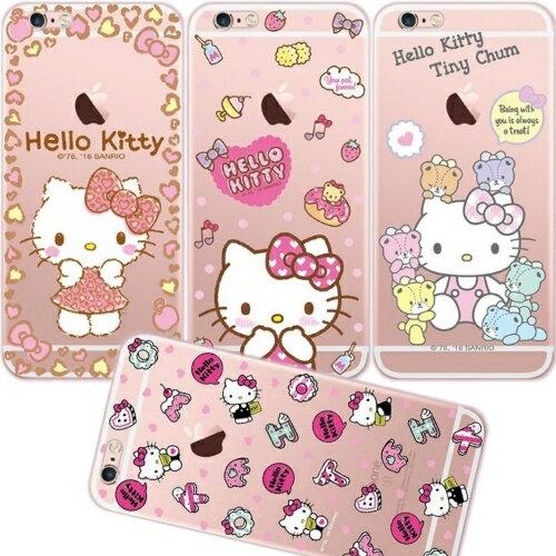 ~Hello Kitty~iPhone 6  6s 立體彩繪透明保護軟套
