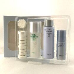 ALBION 艾倫比亞 健康化妝水+美白精華 體驗組 加贈 黑人 專業護齦抗敏感 牙膏 120g
