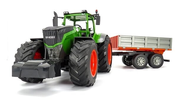遙控農夫車 拖拉機 翻斗車 運輸車 耕耘機 收割機 0