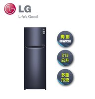 LG電冰箱推薦到LG   315L 上下雙門 直驅變頻冰箱 星曜藍 GN-L397C就在映象商城推薦LG電冰箱