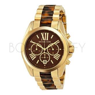 MK5696 MICHAEL KORS 不銹鋼圓盤三眼石英錶 男女錶 中性錶