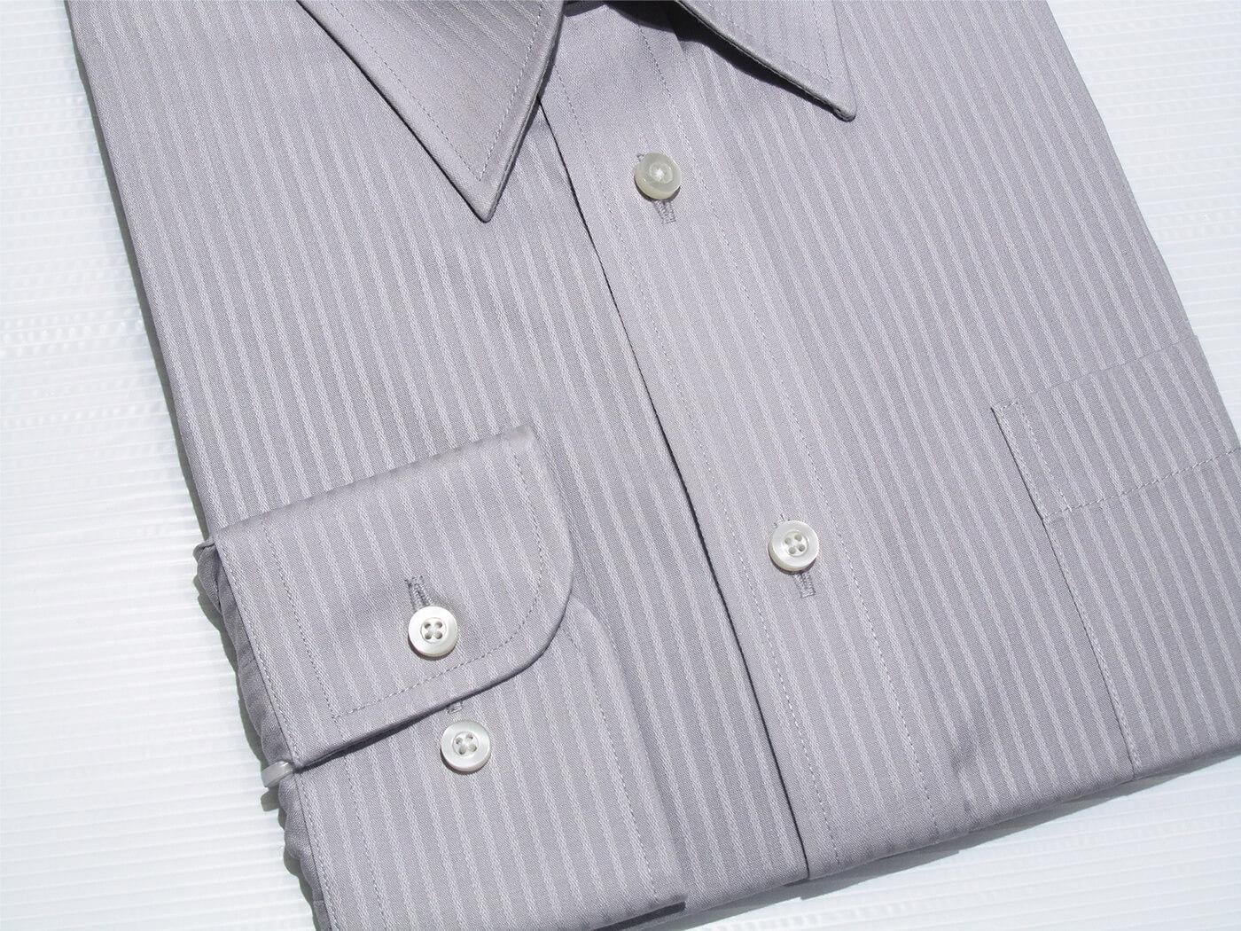 腰身剪裁正式襯衫 直條紋襯衫 舒適標準襯衫 面試襯衫 上班族襯衫 商務襯衫 長袖襯衫 不皺免燙襯衫 (322-3794)淺藍直條紋、(322-3795)淺灰直條紋 領圍:15~18英吋 [實體店面保障] sun-e322 7