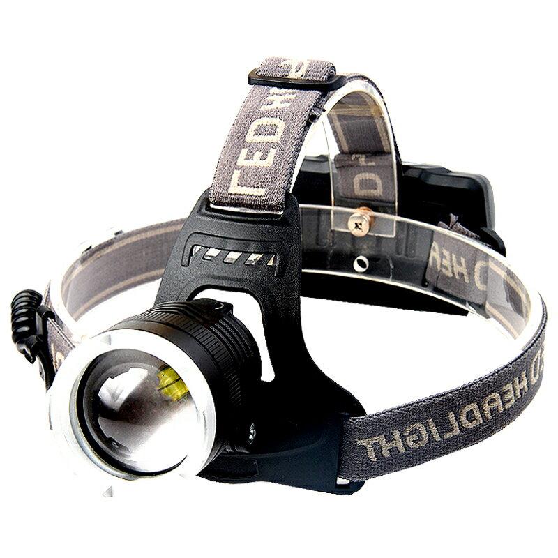 頭燈強光充電頭戴式釣魚夜釣礦燈手電筒超長續航 雙十一