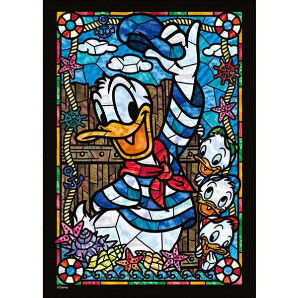 【進口拼圖】迪士尼DISNEY-唐老鴨266片彩繪透明拼圖DSG-266-954