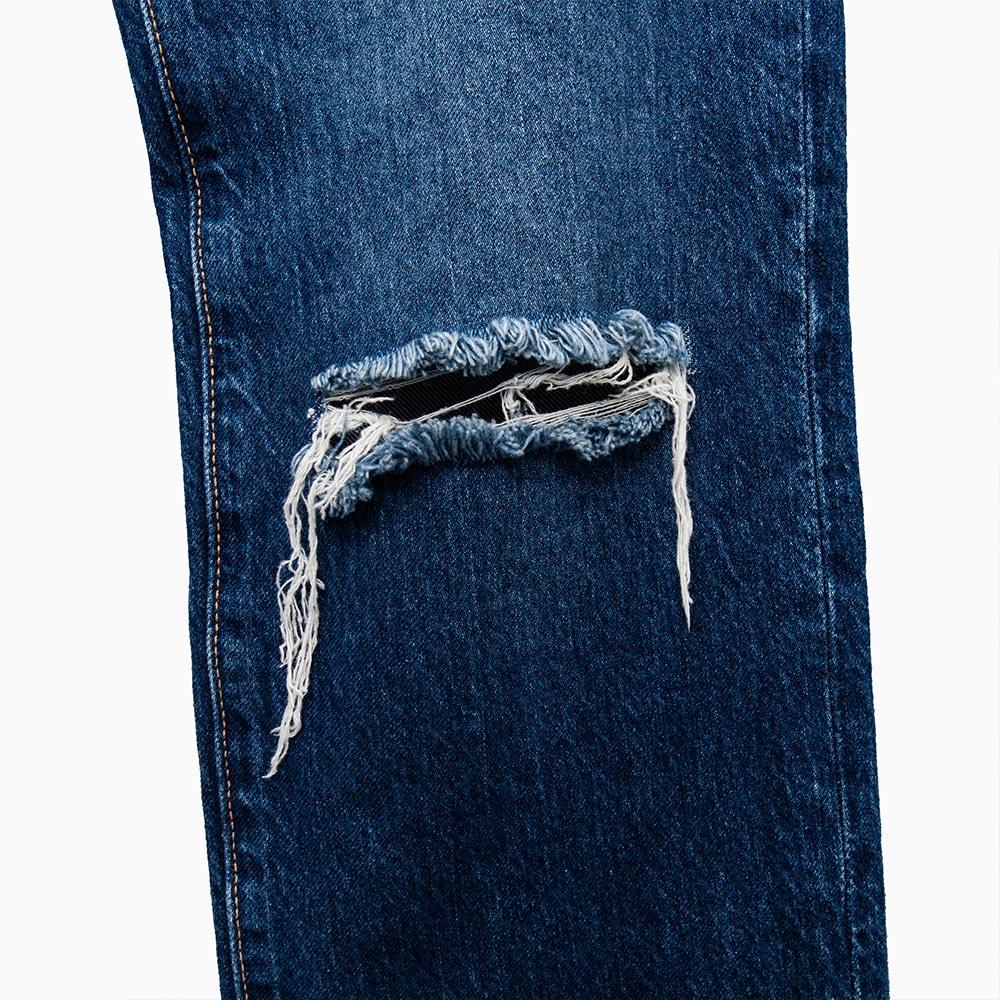Levis 男款 511 低腰修身窄管牛仔長褲  /  破壞 7