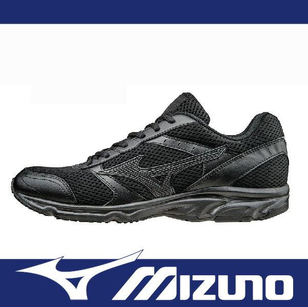 萬特戶外運動 MIZUNO K1GA161409 男女慢跑鞋 寬楦 基本款 學生鞋 便宜 MAXIMIZER 18  全黑色