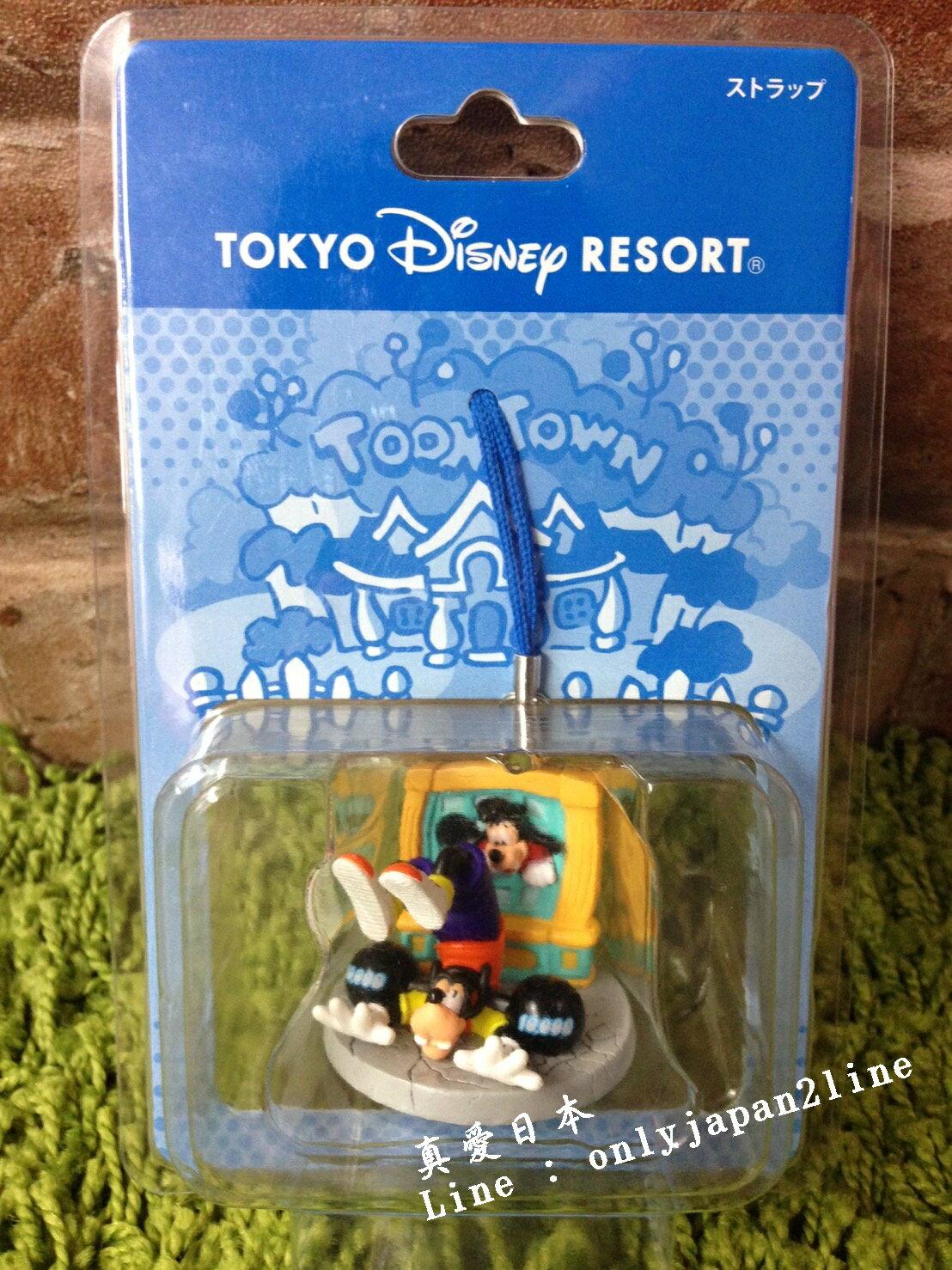 【真愛日本】16042100077 樂園遊樂場景吊飾-卡通城 迪士尼 Disney 場景 吊飾 擺飾 限量