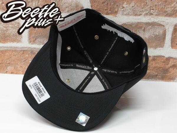 BEETLE MITCHELL&NESS NBA WARRIORS 金州 勇士 CURRY 黑白 SNAPBACK 帽 2