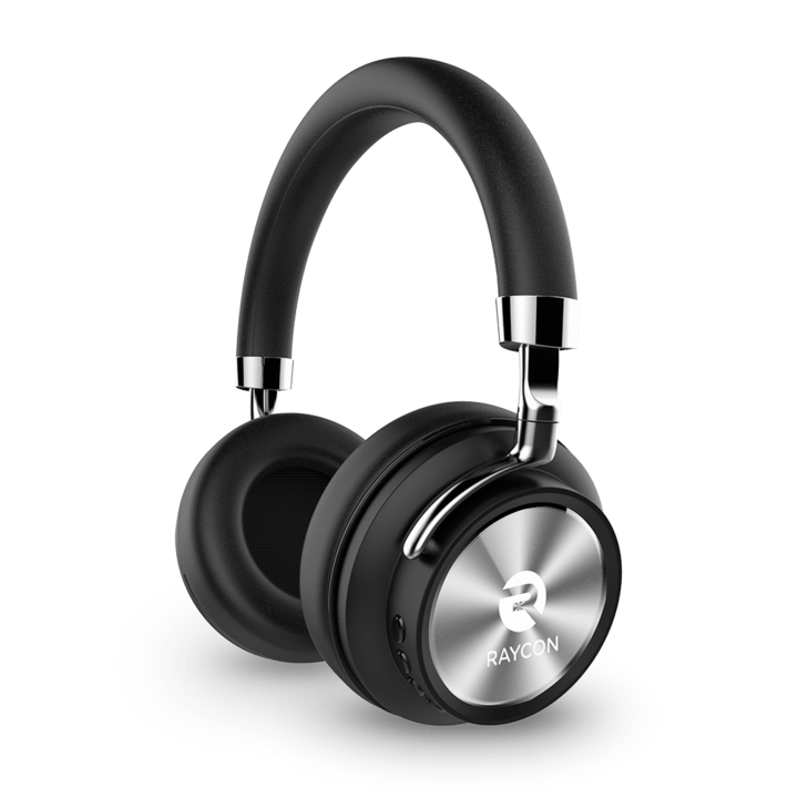 Raycon H50 Wireless Bluetooth Headphones Headset Stereo Sound Audifonos  Bluetooth On Ear Headphones with Mic and Audio Cable for Wired Mode