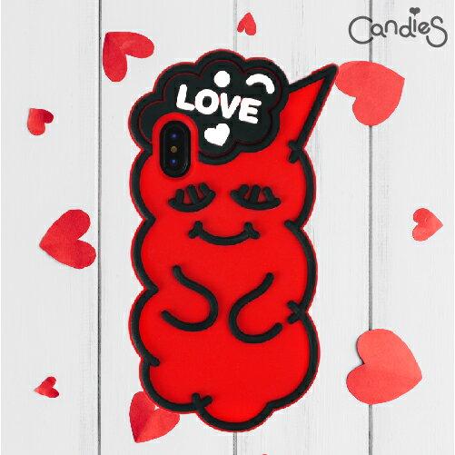 【Candies】睡眠寶寶(Love紅)-IPhoneX