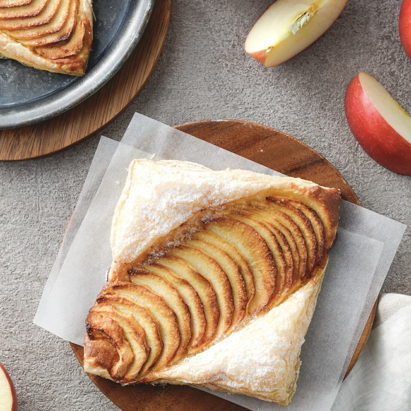 【烘樂夫烘焙】法式蘋果酥 3入  ▎下午茶必備