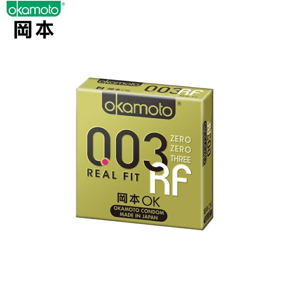 岡本003RF極薄貼身保險套/衛生套3入裝