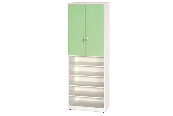 【石川家居】880-01(綠白色)鞋櫃(CT-320)#訂製預購款式#環保塑鋼P無毒防霉易清潔