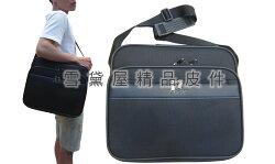 ~雪黛屋~YESON 肩背大容量台灣製造品質保證YKK拉鍊零件提肩側工具樣品包個人行李登機袋大型可A4資料夾Y86002