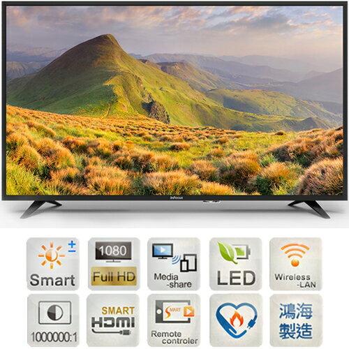 InFocus 超視堺 XT-40CP820 LED液晶電視 40吋 日本堺十代面板 1080P Full HD