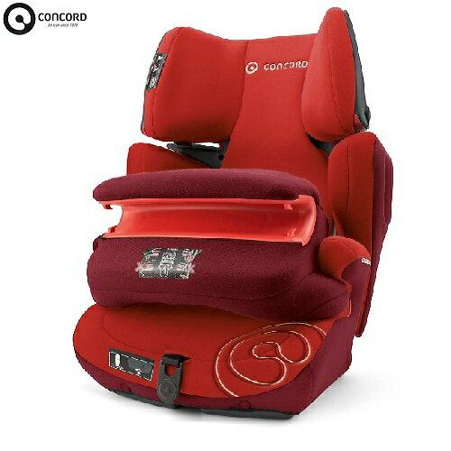 德國【CONCORD】 Transformer Pro 汽車安全座椅(紅色) - 限時優惠好康折扣
