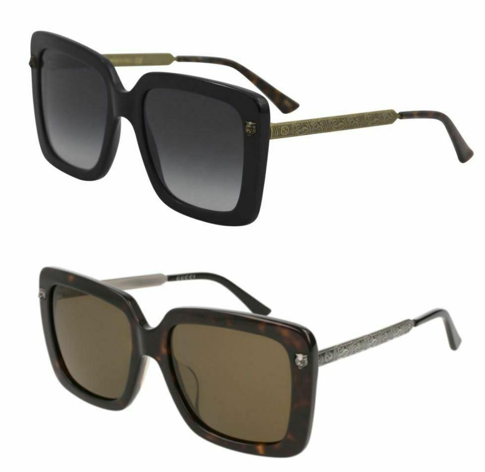 b44e063df Rakuten Home · Fashion Deals. Gucci GG0216SA Squared Women Sunglasses 55mm 0