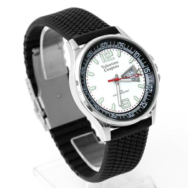 范倫鐵諾˙古柏夜光時刻膠錶正品原廠公司貨柒彩年代【NEV38】單支售價