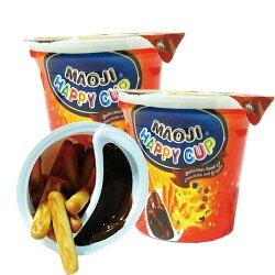 馬來西亞 MAOJI 巧克力 快樂杯 點心 零食 15g【櫻桃飾品】【22884】