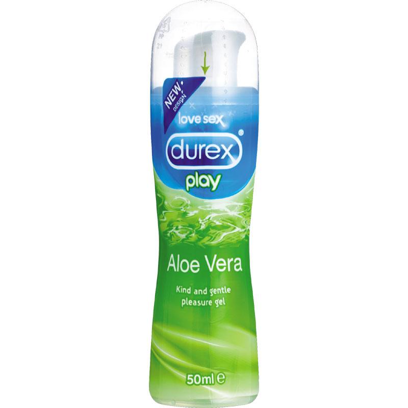 [漫朵拉情趣用品]Durex play 杜蕾斯蘆薈情趣潤滑液劑 50ml DM-9181102