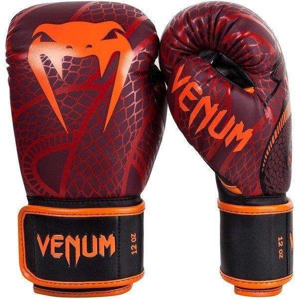 [古川小夫]原廠公司貨限量款高階手工皮革拳擊手套~VENUM12oz毒蛇拳擊手套~VENUM高階皮革拳套12oz