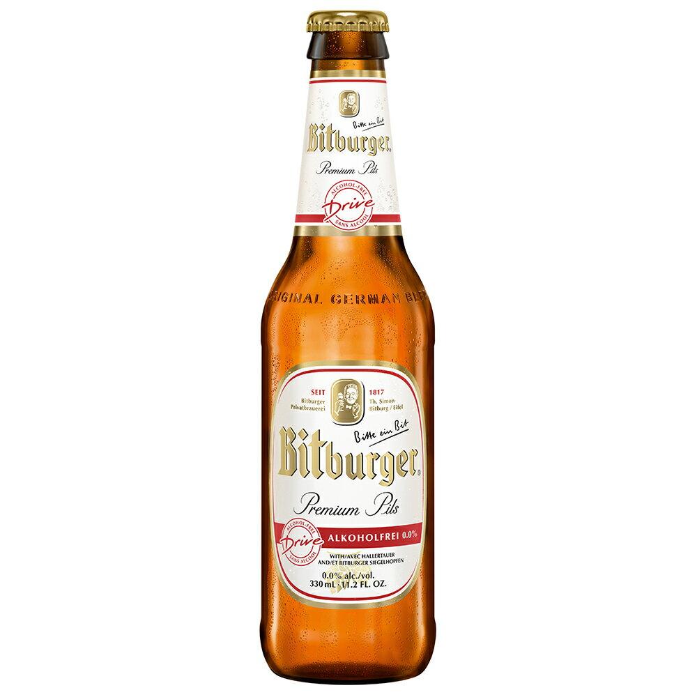 德國碧伯格 優質0.0%無酒精啤酒 330ml 瓶 [德國國家足球隊 指定飲料]