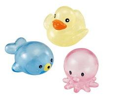 樂雅 透明軟膠動物組(洗澡玩具)