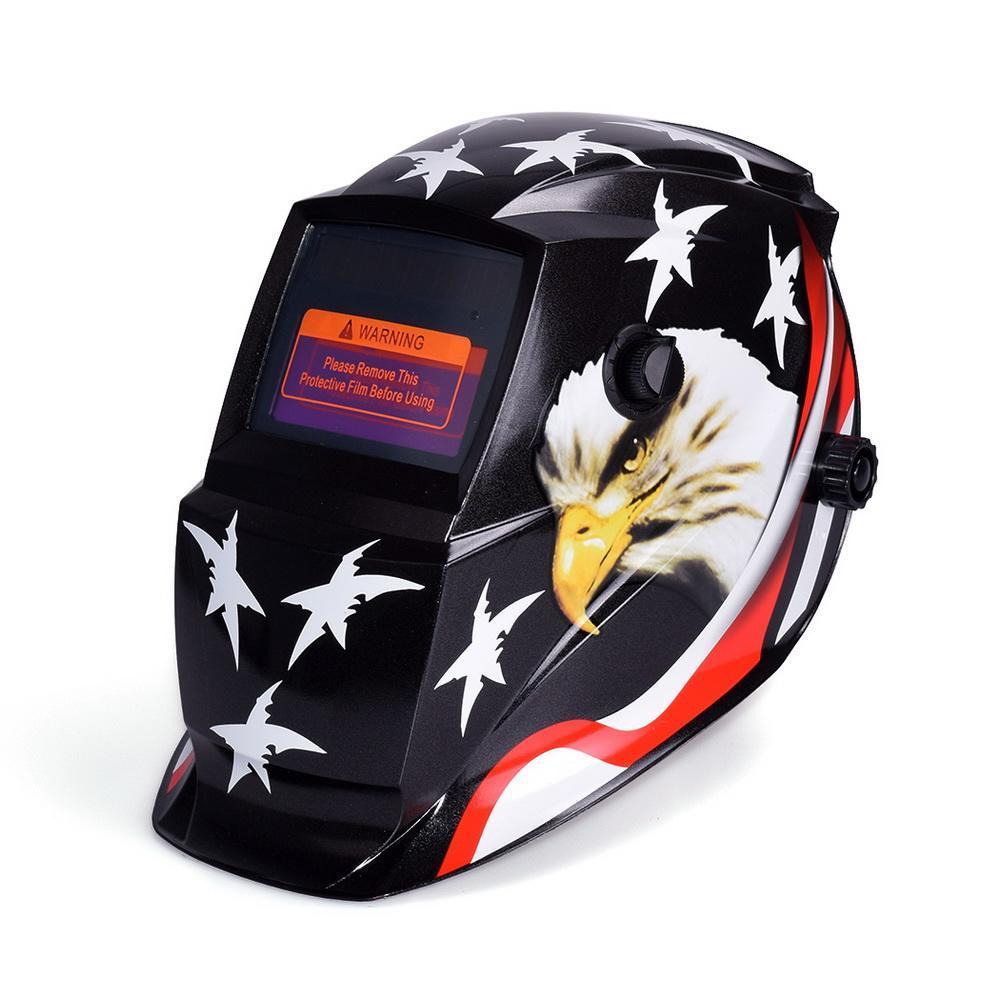 Professional Arc Tig Mig Solar Auto-Darkening Welding Helmet Mask 1