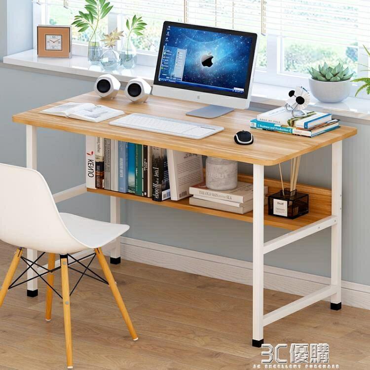電腦桌簡易小桌子臥室簡約書桌家用辦公電腦桌台式桌 3C