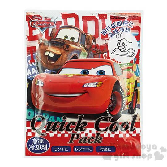 〔小禮堂〕CARS閃電麥坤 急凍包《紅.朋友》不可重複使用