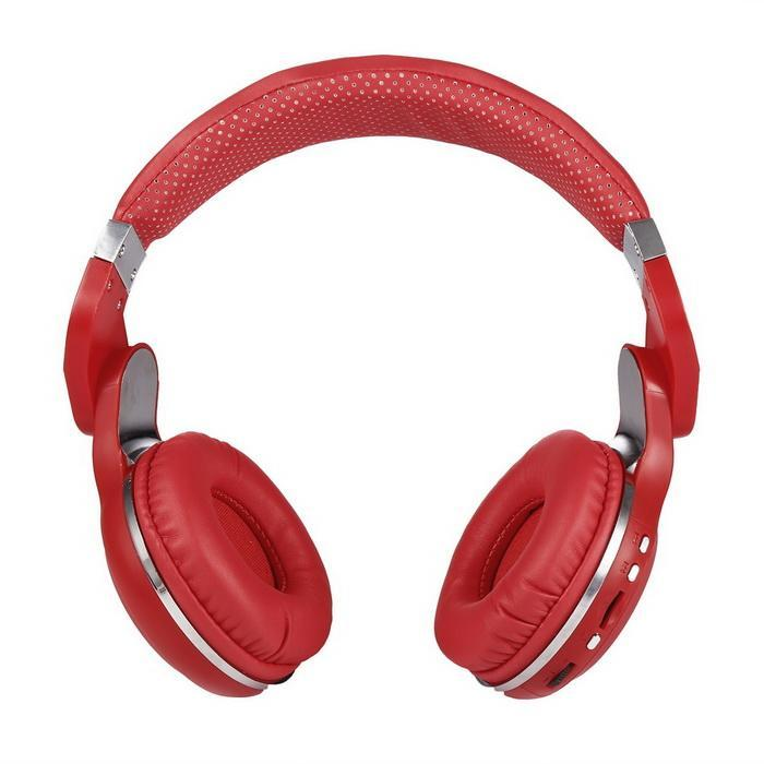Folding Wireless Bluetooth 4.1 Stereo Headset Headphone with Mic and LED Lights 2