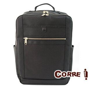 CORRE【PR015】個性後背包 深層黑/咖啡兩色