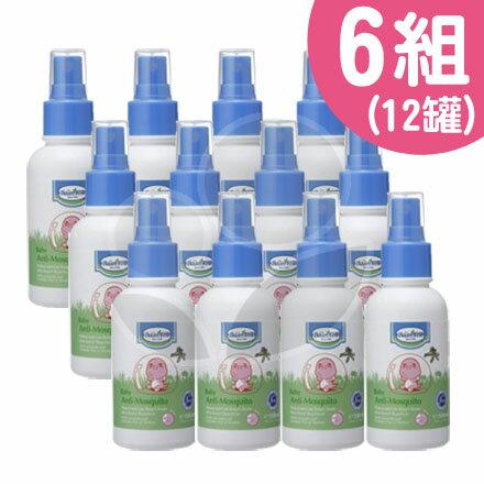 Baan貝恩防蚊噴液(100ml)2罐x6組【悅兒園婦幼生活館】