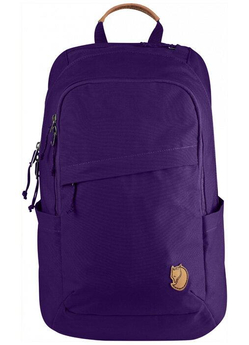 【鄉野情戶外用品店】 Fjallraven |瑞典| 小狐狸 Raven 20L 筆電背包/G1000 復古後背包/26051 《深紫色》
