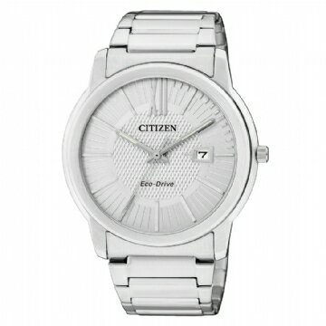 CITIZEN 簡約光動能男錶 AW1210-58A