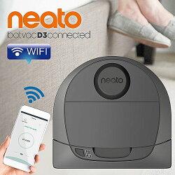 加碼送Hepa濾網*2+拖布套件組*1美國 Neato  D3 Wifi 支援 雷射掃描掃地機器人吸塵器