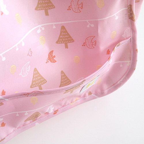Hoppetta - 花語森林餐圍兜 (粉紅) 2