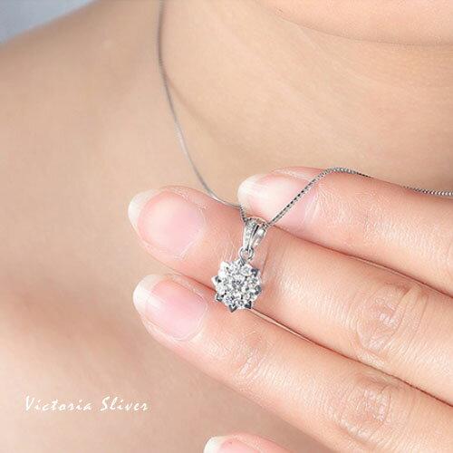 S925銀甜美魅力、迷人風采無限風格項鍊-維多利亞180122