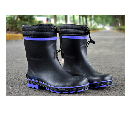 雨鞋 男雨鞋中筒防滑防水橡膠透氣雨靴帶鋼頭防砸水鞋套鞋膠鞋 618年中鉅惠