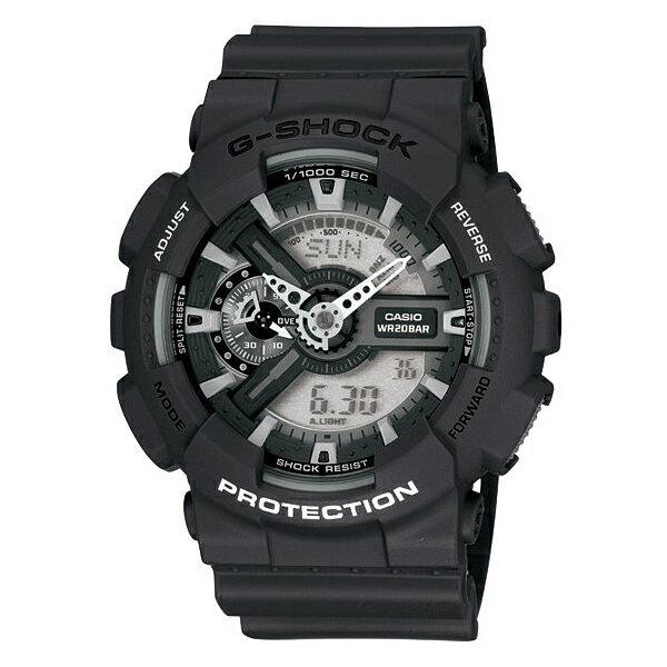 CASIO G-SHOCK GA-110C-1ADR經典雙顯流行腕錶/51mm