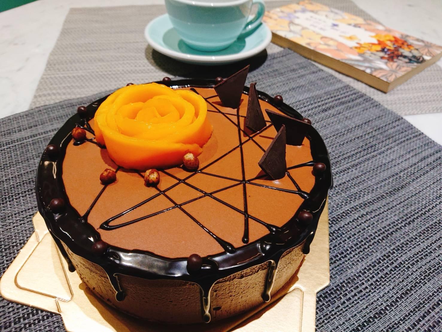 巧克力慕思蛋糕 ( 6吋蛋糕)
