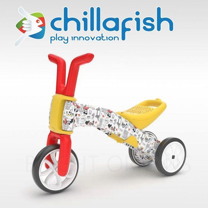 *babygo*比利時 Chillafish Bunzi 迪士尼米奇米妮學步平衡車
