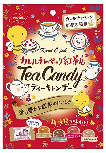 有樂町進口食品 日本NOBEL-小蜜蜂紅茶糖80g 4902124680945 - 限時優惠好康折扣