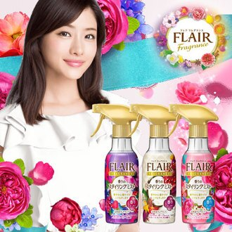 日本 花王 FLAIR Fragrance 消臭芳香噴霧 270ml 衣物防皺芳香噴霧 防皺 香味 除臭【B062020】