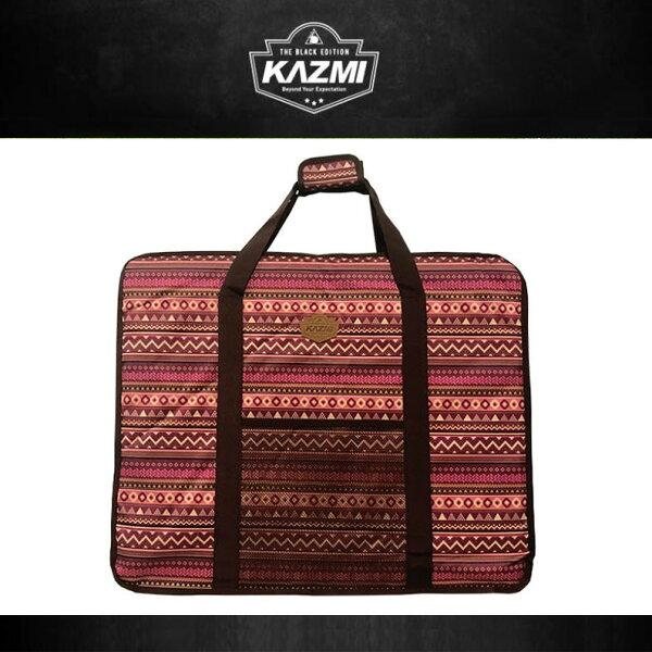 【露營趣】KAZMIK4T3B006WI經典民族風折疊桌收納袋(61x50x10.5cm)酒紅收納袋裝備袋折疊桌休閒桌適用K7T3U003K6T3U006