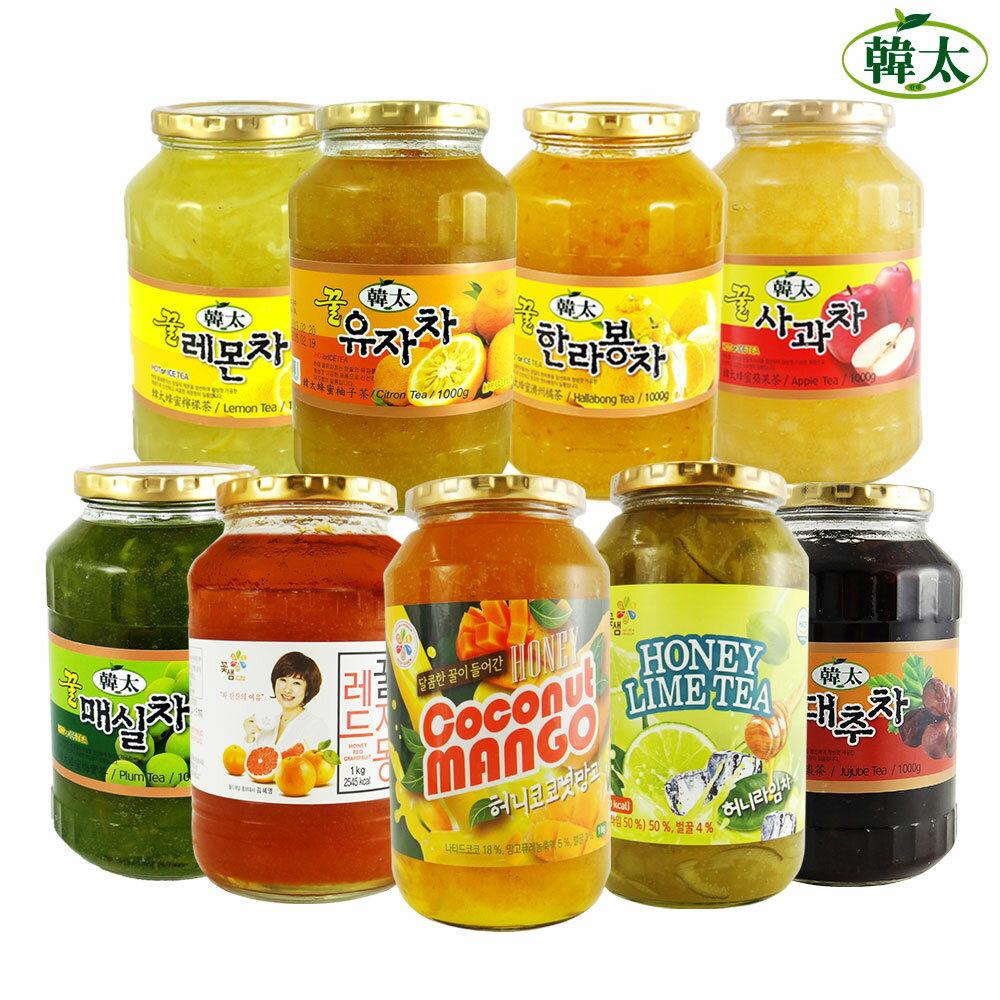 【韓太】蜂蜜水果茶系列任選一入